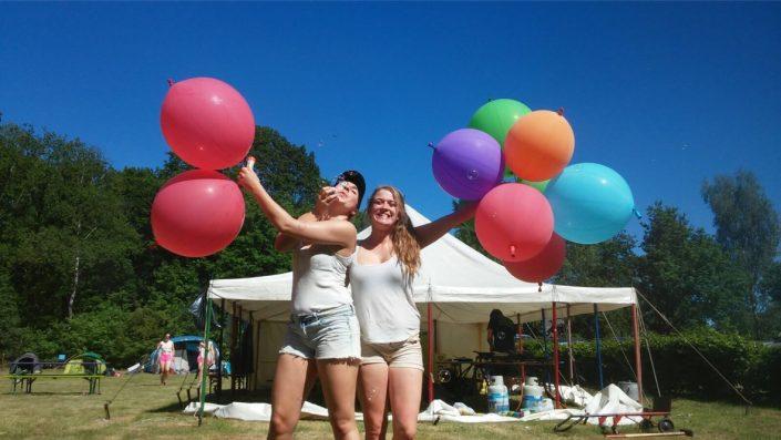 NivonJong JUMP Zomerkamp Ballonnen