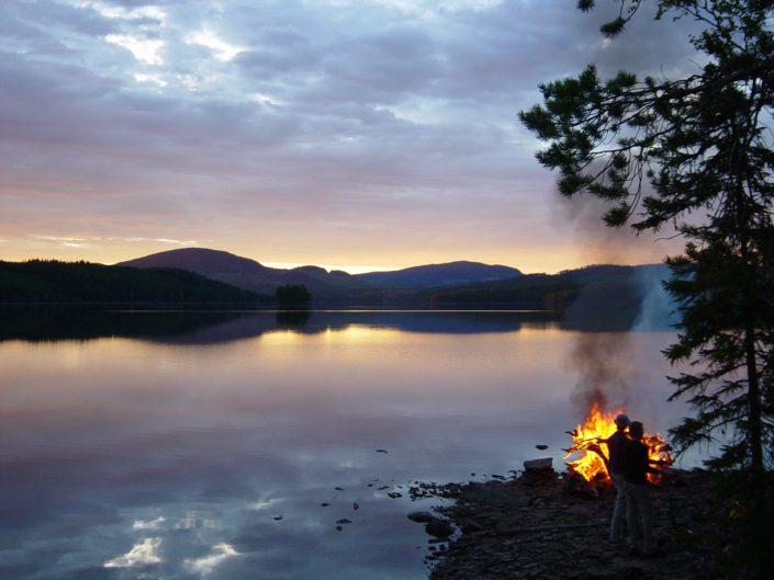 Nivonjong campfire