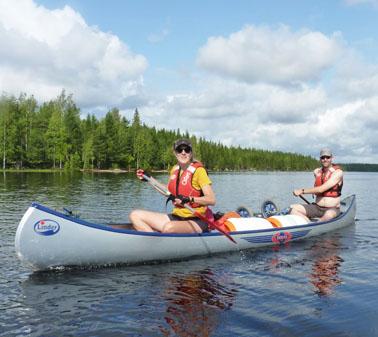 Maak met de Nivon werkgroep TREQ Kanoreizen een trektocht over meren en rivieren door de wilde natuur van oa Zweden (Sytske)