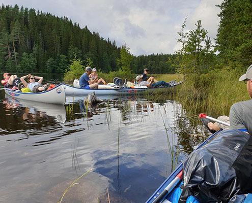Ga in augustus mee op een ontspannen kano avontuur naar Zweden (Treq, Annemieke)